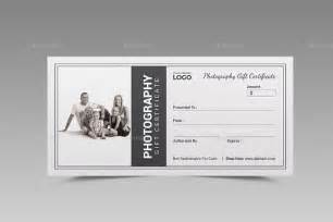 psd templates for photographers 11 photography gift certificate templates free sle