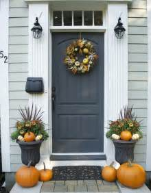 front door ideas 47 cute and inviting fall front door d 233 cor ideas digsdigs