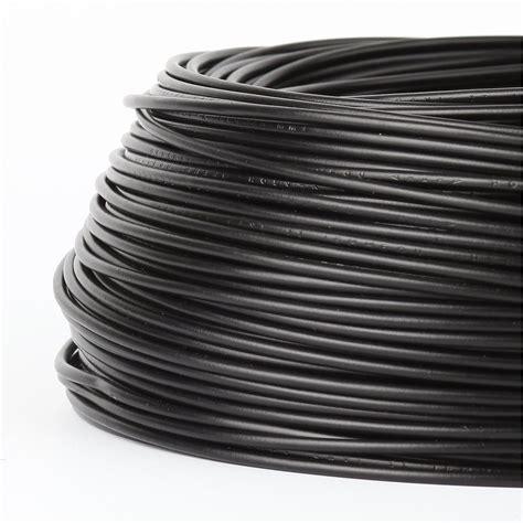 Federal Kabel Nyaf 1x0 75 1x0 75 mm 178 aderleitung h05v k schwarz nya f flexibel 18 95