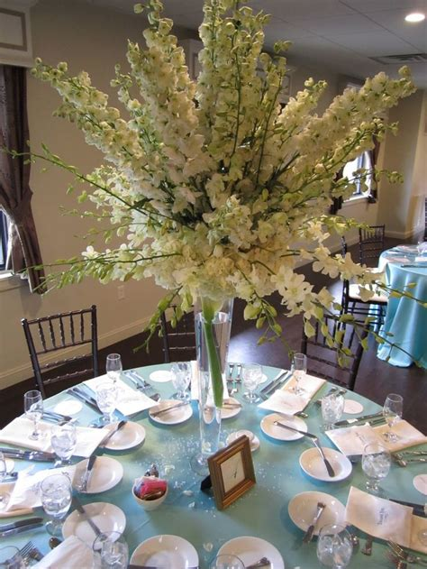 alma luis white orchid wedding white orchid wedding white delphiniums dendrobiums centerpieces
