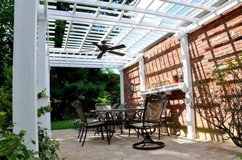 outdoor ceiling fan pergola martinhofmann com living