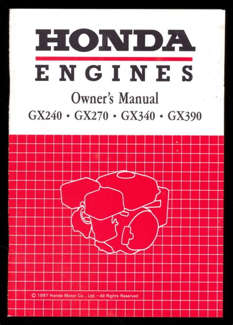 Honda Gx240 Parts Manual Honda Manuals2you We Ship Worldwide