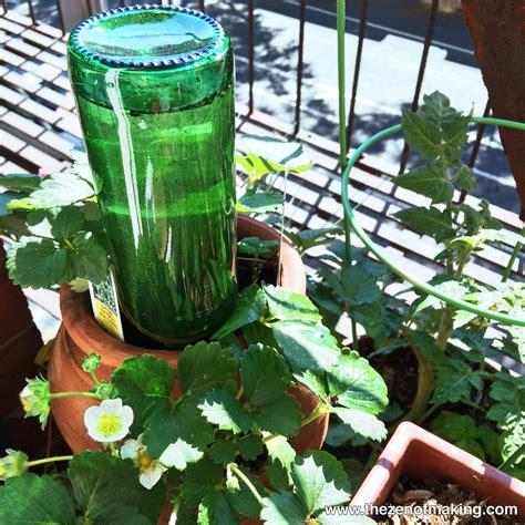 diy plant watering bottle tutorial beer bottle watering globe for houseplants and