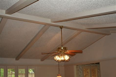 How To Paint Ceiling Beams by Renovations Painting Ceiling Beams To Look Like Wood