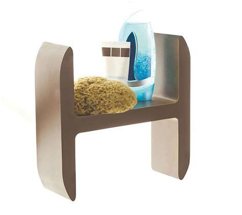 accessori per la doccia lettering di damast l accessorio di design per la doccia