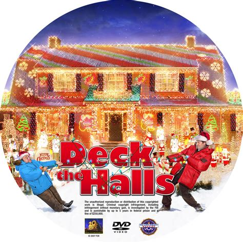 What Does Deck The Halls by Deck The Halls Custom Dvd Labels Deckthehalls Cstm
