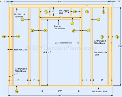 how to build a barn door frame gable shed plans walls and door