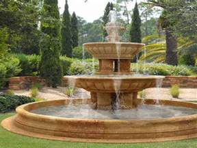 Front Yard Fountains Water Fountain Ideas Garden Front Yard Water Fountain