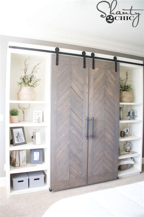 Sliding Barn Door Media Console Shanty 2 Chic Barn Door Media Center