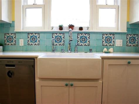 Ceramic Tile For Backsplash In Kitchen Ceramic Tile Backsplashes Pictures Ideas Tips From Hgtv Hgtv