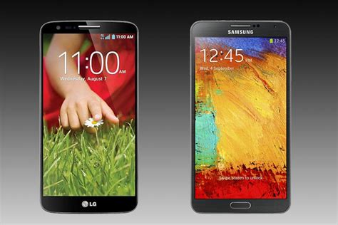 lg2 mobile lg g2 vs galaxy note 3 which big phone is best for you
