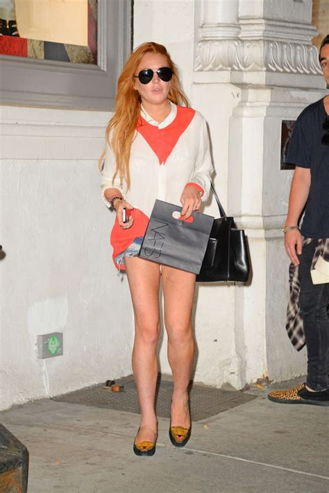 Lohan Backs Out Of by Lindsay Lohan In Shorts 01 Gotceleb