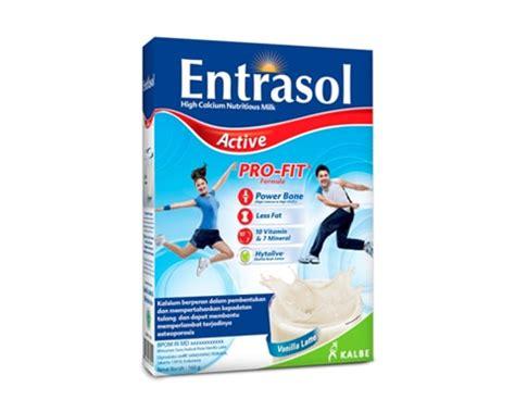 Entrasol Active 14 merk rendah lemak yang bagus di indonesia