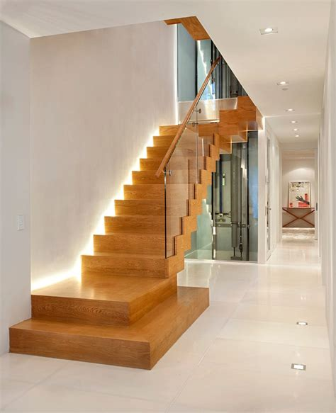 trendy home with super unique staircase led treppenbeleuchtung innen 25 ideen f 252 r die gestaltung