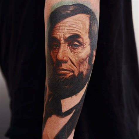 abraham lincoln tattoo abraham lincoln by nikko hurtado nikko hurtado