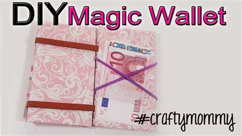 How To Make A Cool Paper Wallet - diy magic wallet make your own recycle craft tutorial