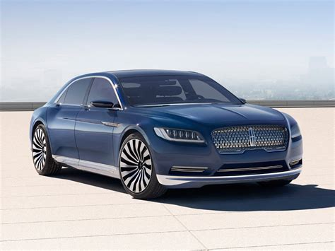 New Lincoln Concept by Lincoln Continental Concept Graces 2015 New York Auto Show