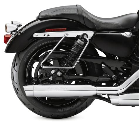 harley davidson saddlebag 90201324 saddlebag supports chrome at thunderbike shop