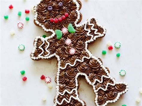 chocolate pull apart christmas tree recipe pull apart gingerbread recipe food network kitchen food network