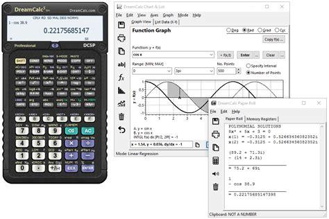 calculator exe dreamcalc scientific graphing calculator