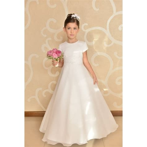 elegant simple communion dress