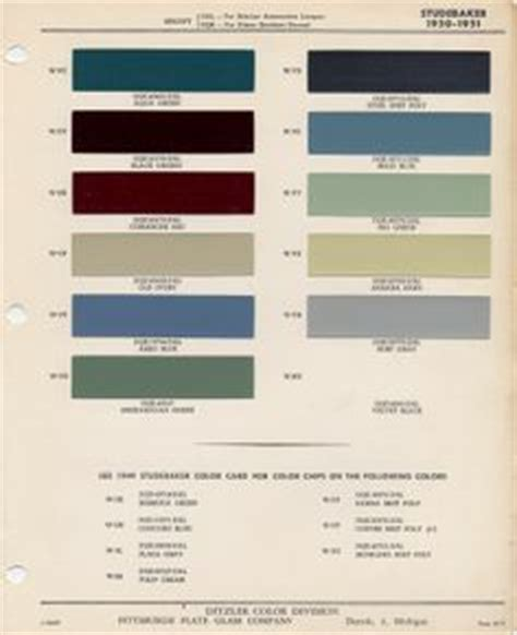 auto paint codes coe colors for 1952 auto paint colors codes auto paint