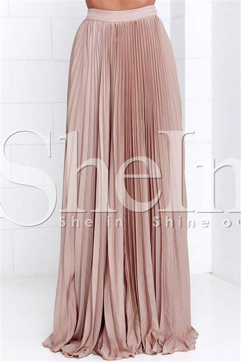 pleated chiffon maxi skirt dress ala pleated pink maxi skirt dress ala