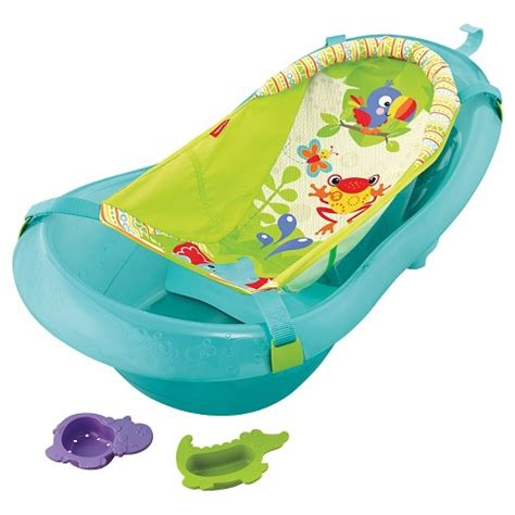 baby bathtub with shower fisher price baby bath tub ocean blue target