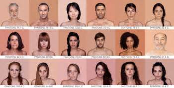skin colored pantone skin color spectrum