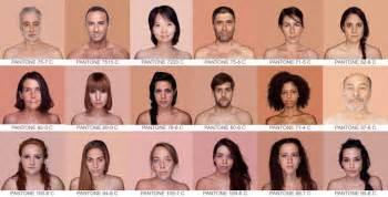 types of skin color pantone skin color spectrum
