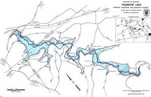 Ohio Lakes Map by Seneca Lake Ohio Fishing Map Images