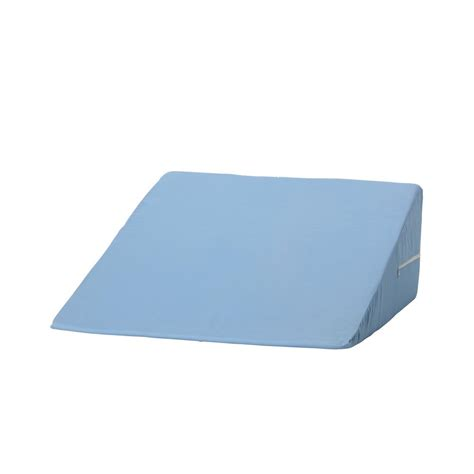 foam bed wedge dmi foam bed wedge in blue 802 8026 0100 the home depot