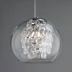 Glass Island Lighting Fixtures Mini Pendant Lighting For Kitchen Using Swarovski Teardrop And Warm Yellow Led