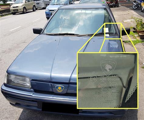 Cermin Tingkap Kereta Myvi pembezaan cermin kereta original dengan tidak original