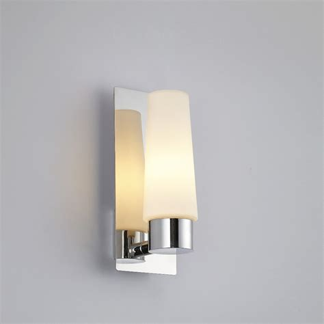 Bedroom Wall Sconces Modern Glass Chrome Deco Sconces Bathroom Bedroom Mirror Wall Light Fixture Waterproof In