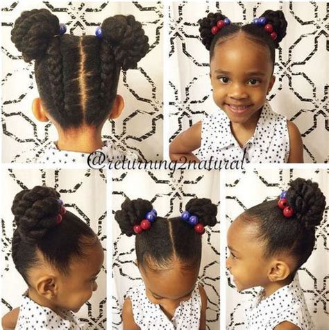 quick and easy braid bun styles for black women 20 amazing braided pigtail styles for girls