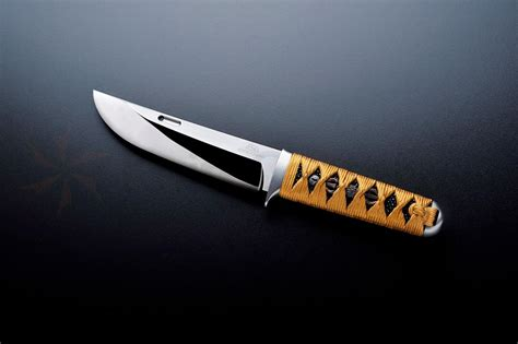 Japanese Kitchen Knives Review rockstead un zdp japanese fixed 5 1 2 quot blade azuki silk
