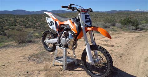 85cc motocross bike 2016 ktm 85 sx review dirt rider 85cc mx shootout