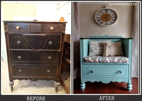 dresser turned into a bench 20 of the best upcycled furniture ideas kitchen fun