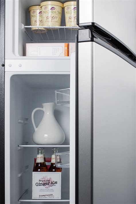 What Is Cycle Defrost Refrigerator by Summit Cp972ss Two Door Cycle Defrost Refrigerator