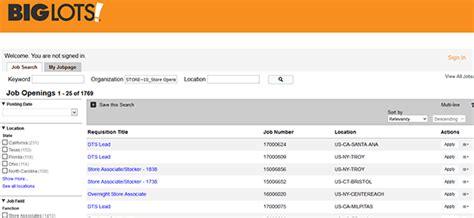 printable job applications big lots big lots application