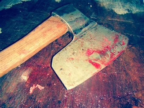 bloody axe  stock photo public domain pictures