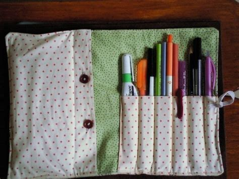 pattern for roll up pencil case mother goose pencil case roll up 183 a roll up pouch
