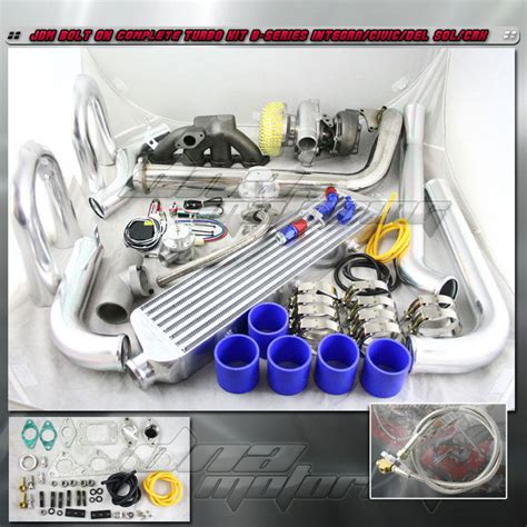 cast turbo charger kit for b series turbo turbocharger cast manifold kit b16 b18 b20