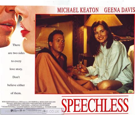 christopher reeve michael keaton speechless a tribute to christopher reeve geena davis