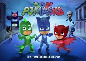 heroic animated series pj masks debut disney junior