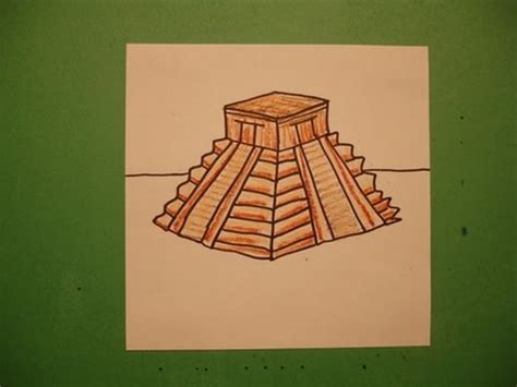 how to make an aztec calendar how to draw an aztec temple