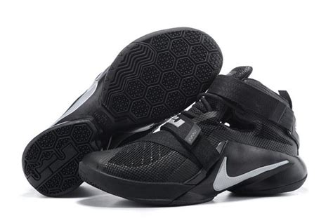 basketball shoes nike cheap cheap nike zoom soldier ix 9 2015 all black basketball