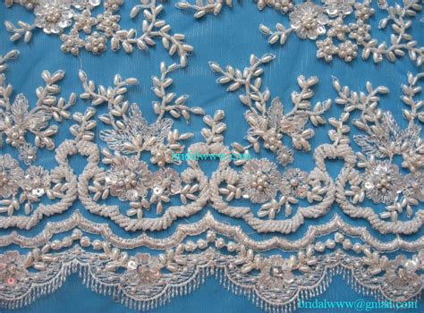 beaded lace 15 yards custom made quality precious ivory exquisite