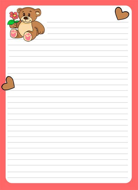 hojas para escribir cartas image gallery hojas romanticas para escribir